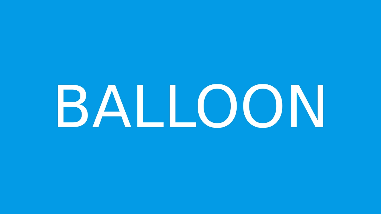 How to pronounce BALLOON in English  JustPronounce