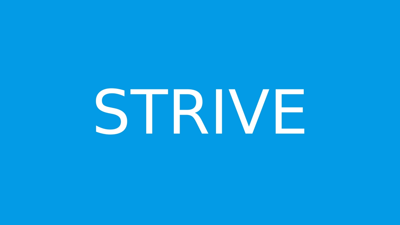 How to pronounce strive in English  JustPronounce