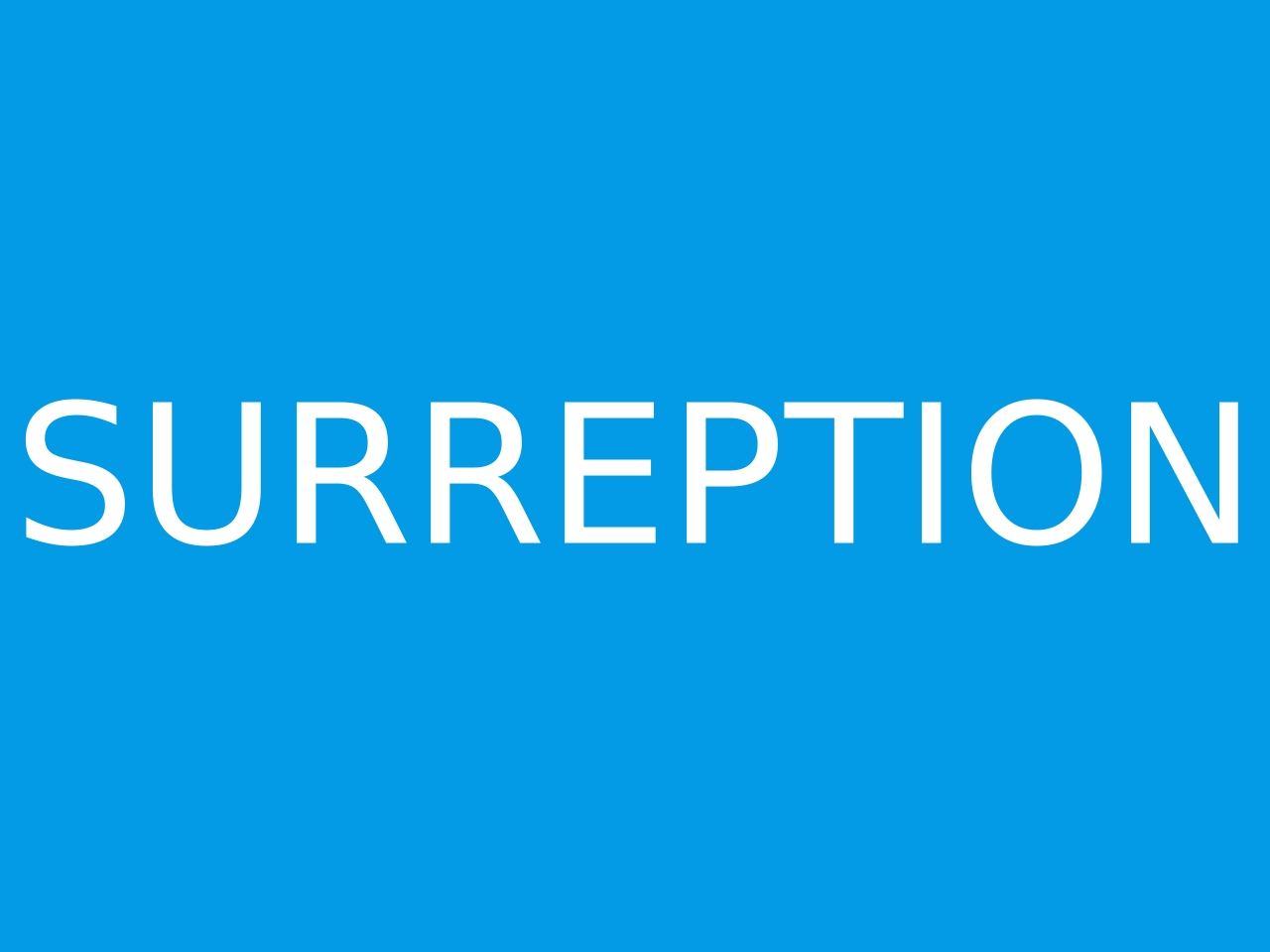 How to pronounce SURREPTION in English  JustPronounce